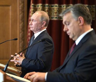 Vladimir Putin, Viktor Orban.
