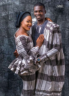 """""""I Will Wait Till The End Of It"""" Taraba Producer Cobjay Joseph Upload Beautiful Picture Of Himself And Queen Of His Heart"""