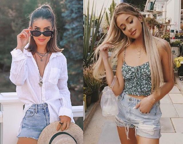 Looks com short, Camila Coelho, Jami Alix