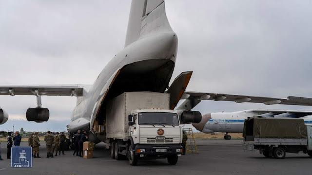 Diáspora dona suministros médicos a Armenia