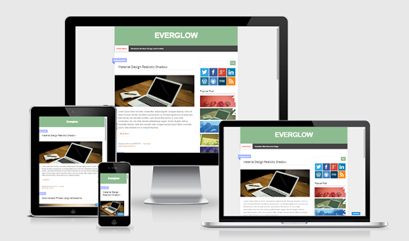 Simple Awesome Blogger Templates - Kaizentemplate - Rebuild Another ...