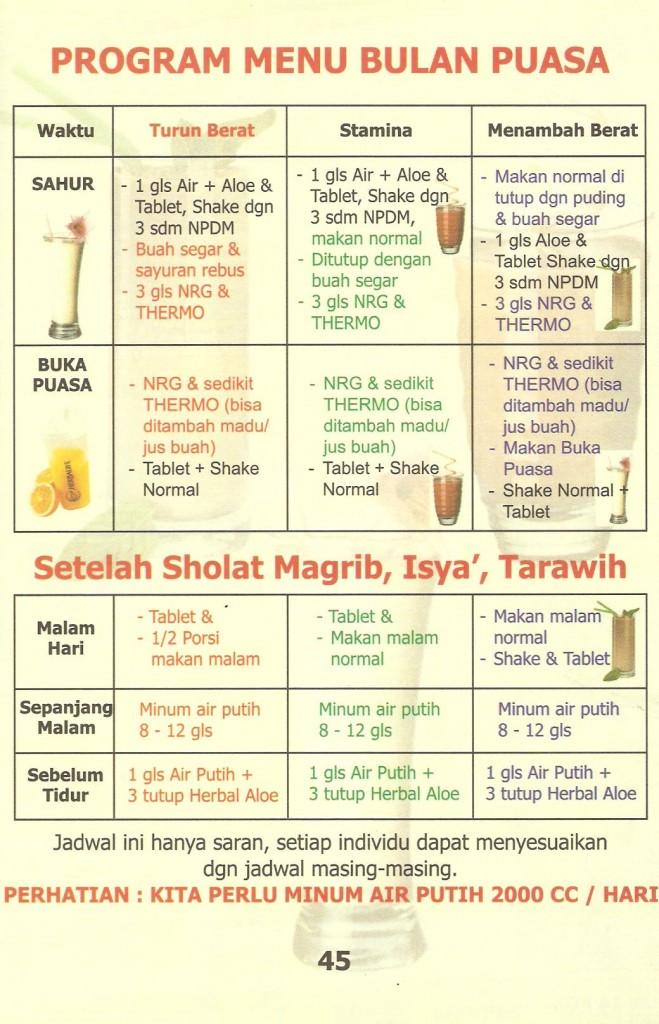 Tips Sehat Langsing Ramadhan