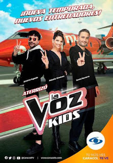 telenovela La Voz Kids Colombia 2021