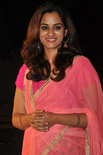 Actress Nanditha Raj Latest Pictures in Hlaf Saree at Savithri Movie Special Song Launch  0019