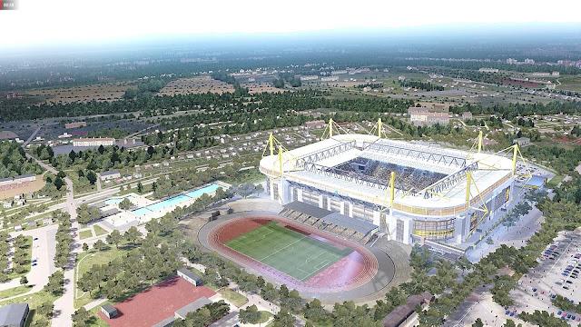 Signal Iduna Park | Stadium | PES2020 | PC | By Jostike Games