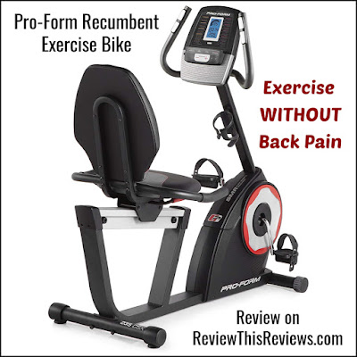 Pro-Form 235 CSX Recumbent Exercise Bike Review