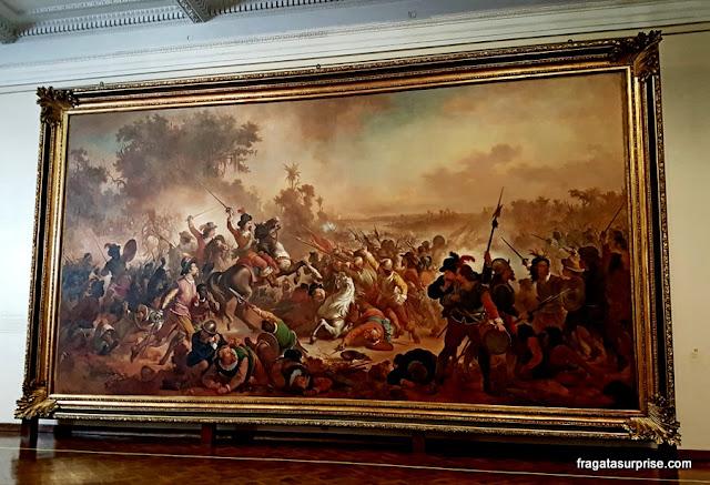 """""""A Batalha dos Guararapes"""", de Victor Meirelles"""