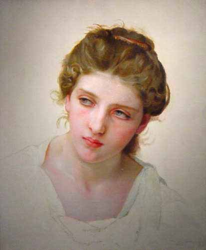 Адольф Вильям Бугро - Лицо женщины (1897)