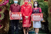 Angkat Olahan Bunga Rosella Celup Asli Desa Tianyar, Karangasem Menangkan Juara 2 Lomba Bulan Bung Karno Provinsi Bali