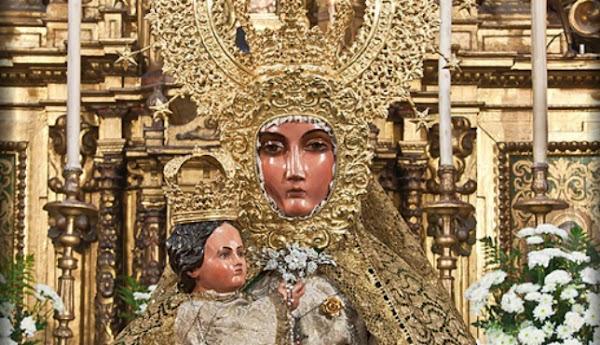 Horario e Itinerario Salida procesional de la Virgen del Mar. Sevilla 01 de Junio del 2019