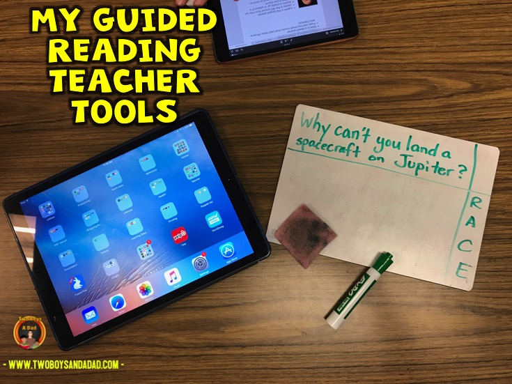Using the iPad to teach during guided reading