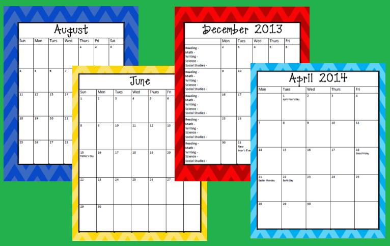 chevron august 2013 calendar - photo #16