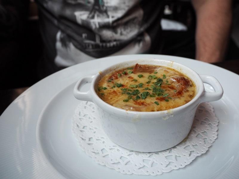 Cafe Boheme's French onion soup