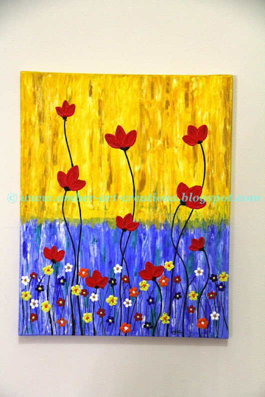 Canvas Painting- Spring