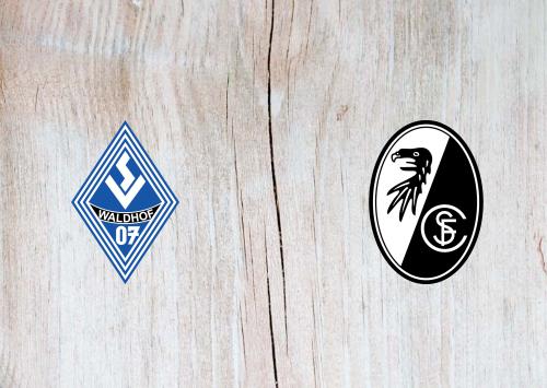 Waldhof Mannheim vs Freiburg -Highlights 13 September 2020