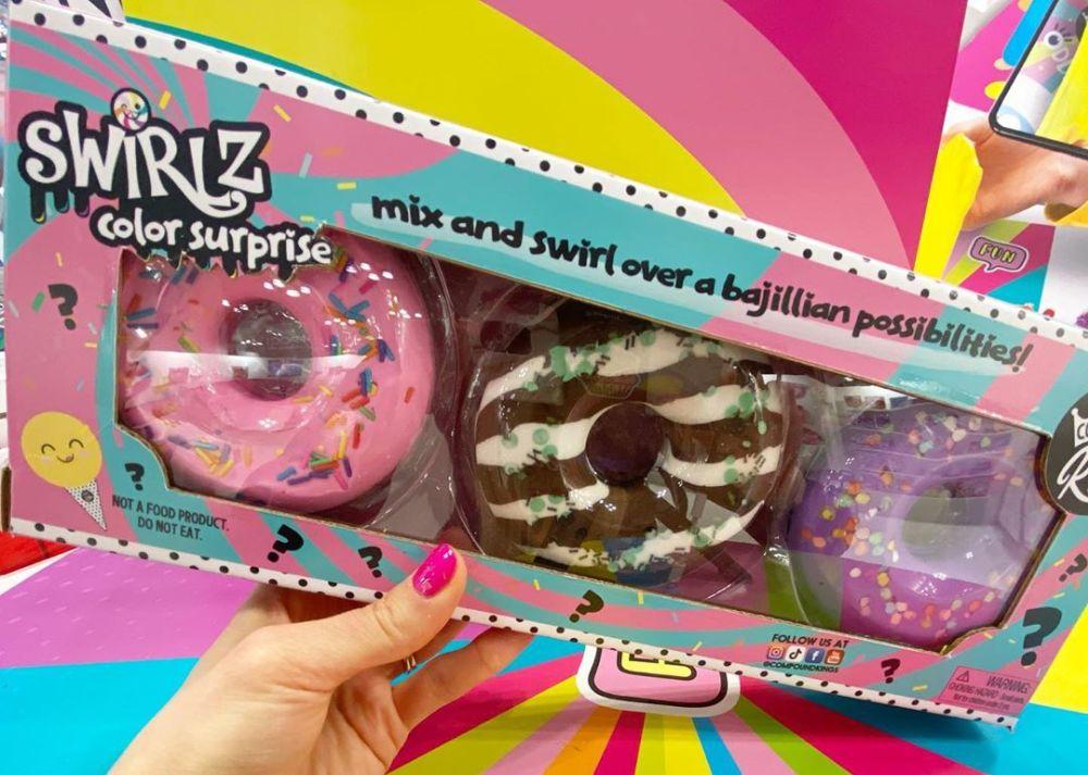 Пончики со слаймом Swiriz Color Surprise новинки игрушек 2020