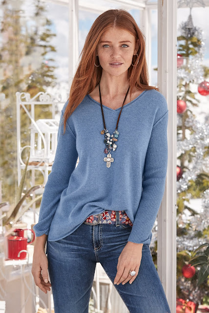 Sundance Catalog Beloved Cashmere Pullover