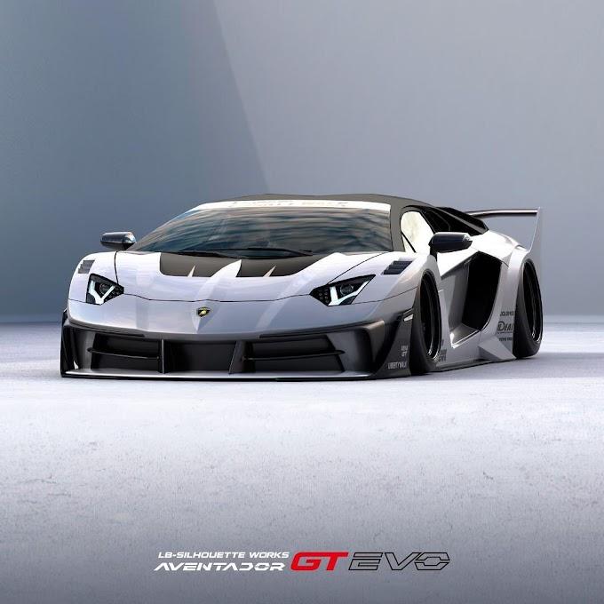 Lamborghini Aventador Bodykit