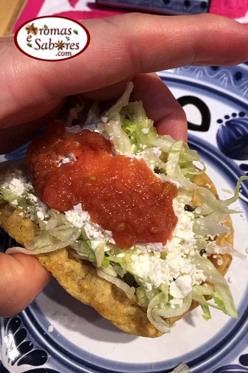 Sopes mexicanos