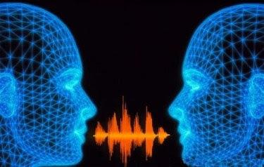 imagem simulando o som da voz