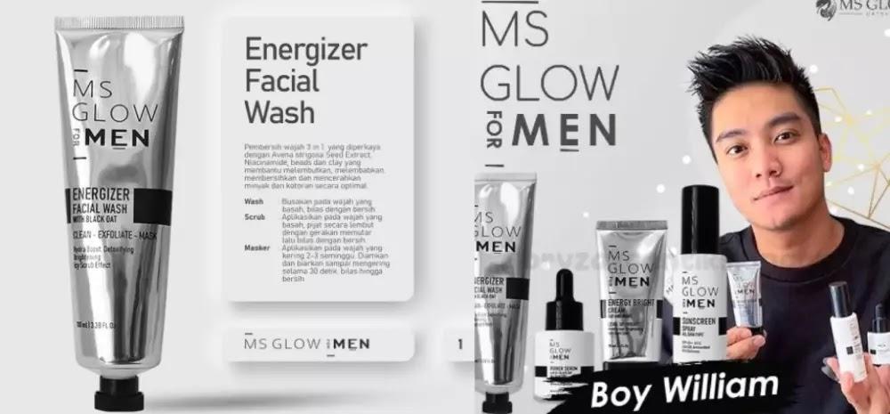 Review Lengkap MS Glow Men dan Manfaatnya - Tentang Ms Glow For Men