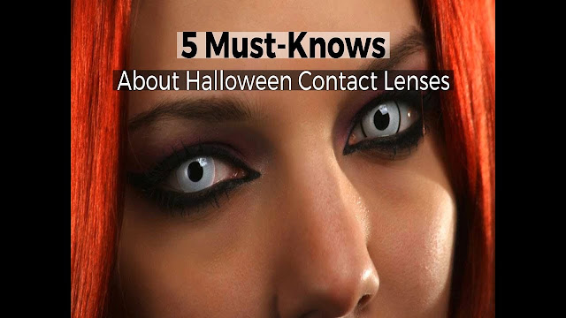 Step Up Halloween Game with Contact Lenses