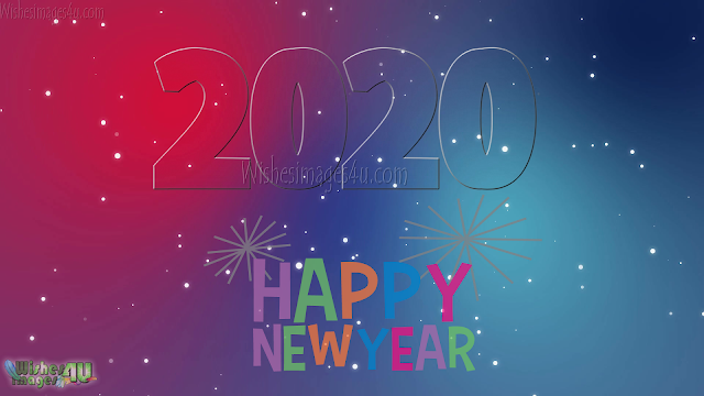 New Year 2020 Sparkling HD Images Download For Desktop