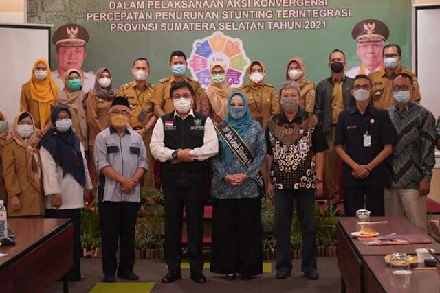 Program Penurunan Angka Stunting di Kabupaten/Kota se-Sumsel Dapat Dukungan Pemprov