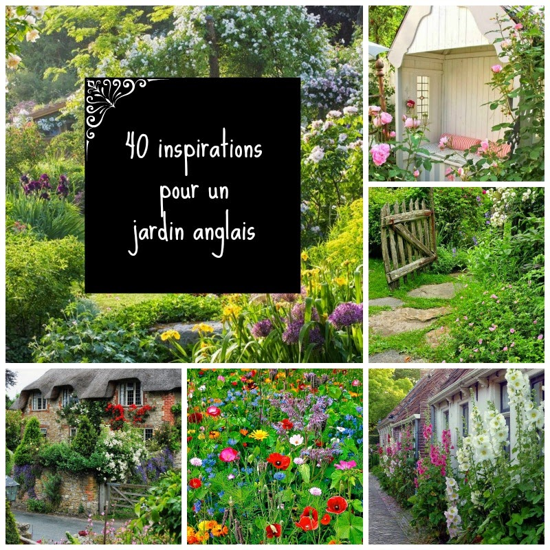 home garden 40 inspirations pour un jardin anglais. Black Bedroom Furniture Sets. Home Design Ideas