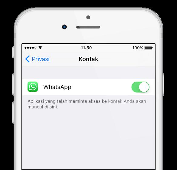 Cara Mengizinkan Whatsapp Mengakses Kontak Xiaomi Biar Nama Kontak Muncul