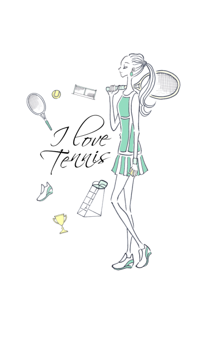 I LOVE Tennis -LOVE series 07-