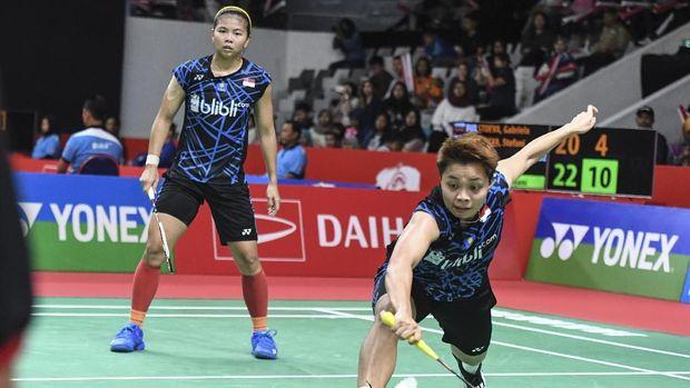 Inilah Hasil Thailand Open Gresyia Dan Apriyani Gagal Ke Semifinal 2019