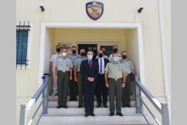 Επίσκεψη Α/ΓΕΣ στη ΓΔΑΕΕ-Ενημερώθηκε για τα Εξοπλιστικά Προγράμματα ΣΞ