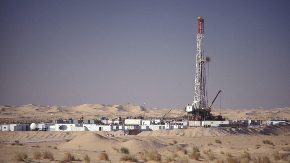 El bloque de gas descubierto en Tinduf/ foto de agencias