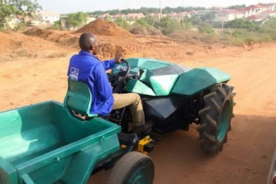 tractor made in Nigeria