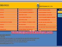 Aplikasi excel format administrasi guru Lengkap jenjang SD-SMP-SMA