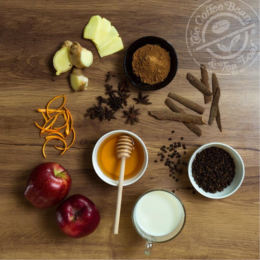 The Coffee Bean & Tea Leaf Honey Apple Chai Tea Latte ...