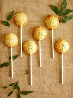 Sucettes Pie Pops Pommes et Canelle