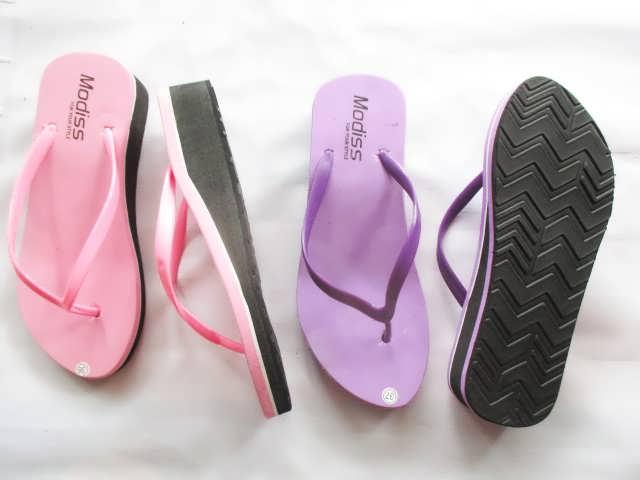 Sandal Jepit Spon Wedges polos Paling Murah