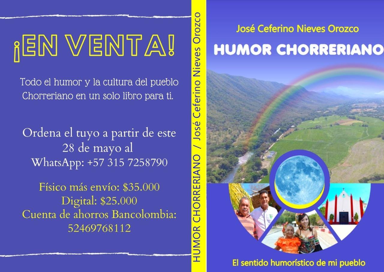 https://www.notasrosas.com/José Ceferino Nieves lanzará una nueva obra resaltando el sentido humorístico de su pueblo: Chorreras