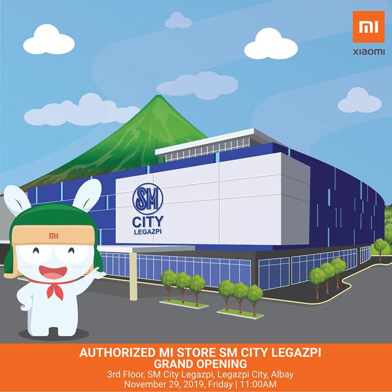 Xiaomi to open a new Mi Store in SM City Legazpi!
