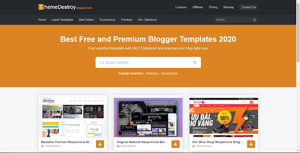 Templateify Saith Premium Blogger Template Download