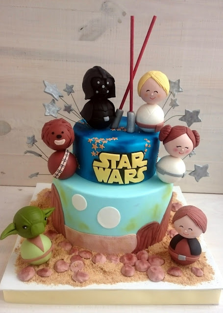 BABY STAR WARS CAKES