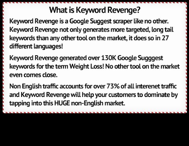 Keyword Revenge - Google Suggest Keyword Tool