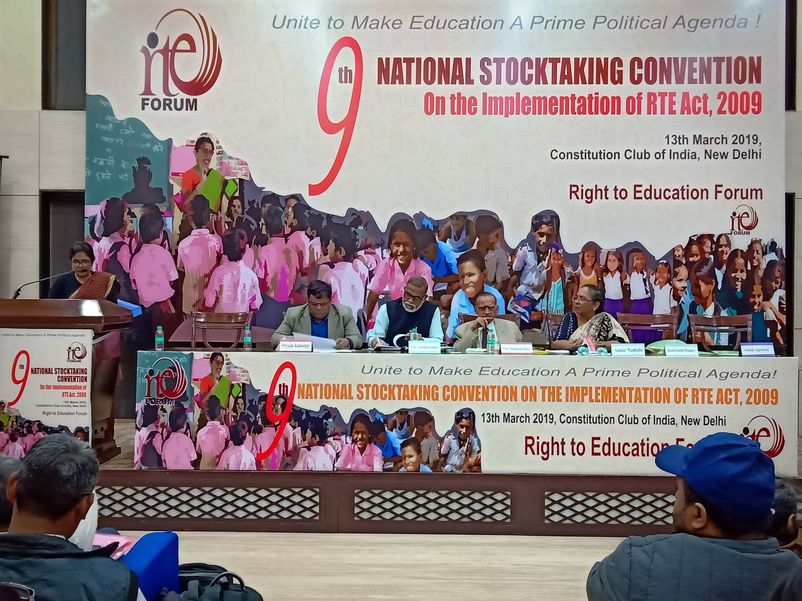 Only 12 7% schools comply with Right to Education, progress