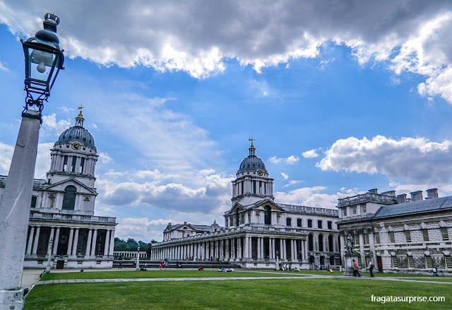 Royal Naval College (Escola Real de Marinha), Greenwich, Londres