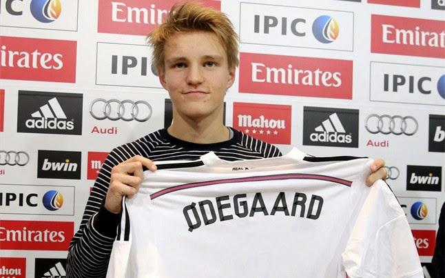 """Odegaard, nuevo """"Chico de Oro"""" del Real Madrid"""