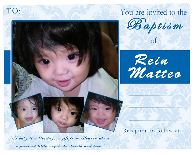 Baptismal Invitation
