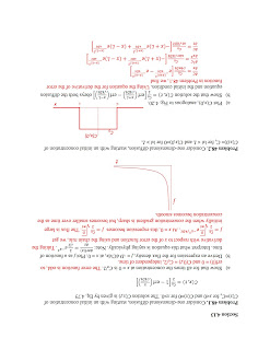 Page 1 of the solution to the new diffusion problems for Intermediate Physics for Medicine and Biology.