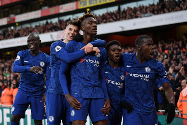 Bottleing Arsenal, The dressing room was on fire at Half-time - Frank Lampard, Chelsea defeat Arsenal at home, Londown is blue